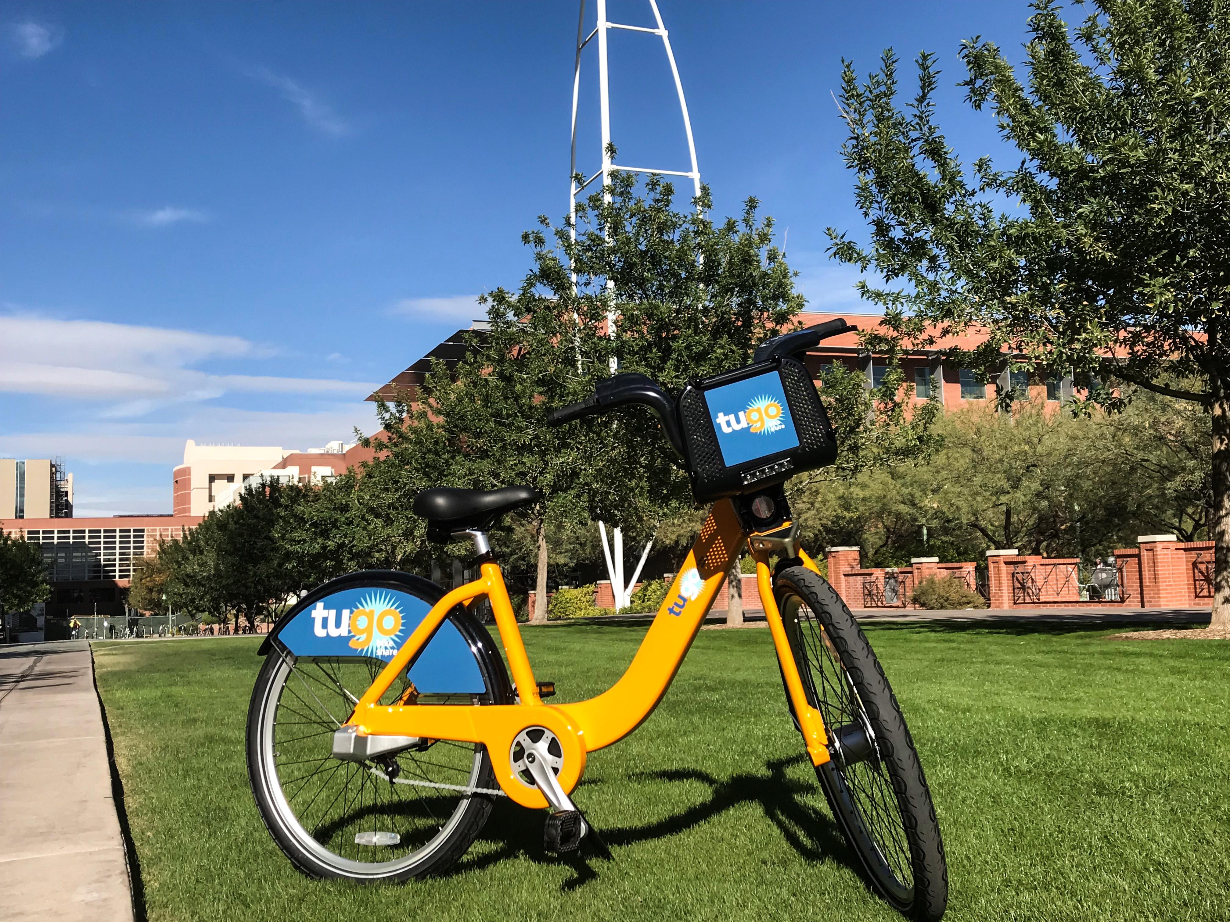 Tugo City Bikeshare Bike