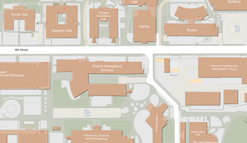 Ua Parking Map UA PTS : Parking & Permits